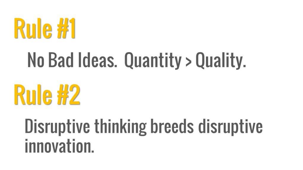 solution idea generation