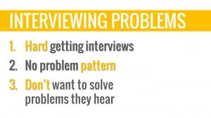 customer interviewing