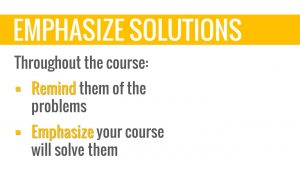 engaging students emphasize solutions