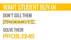 engaging students by solving problems