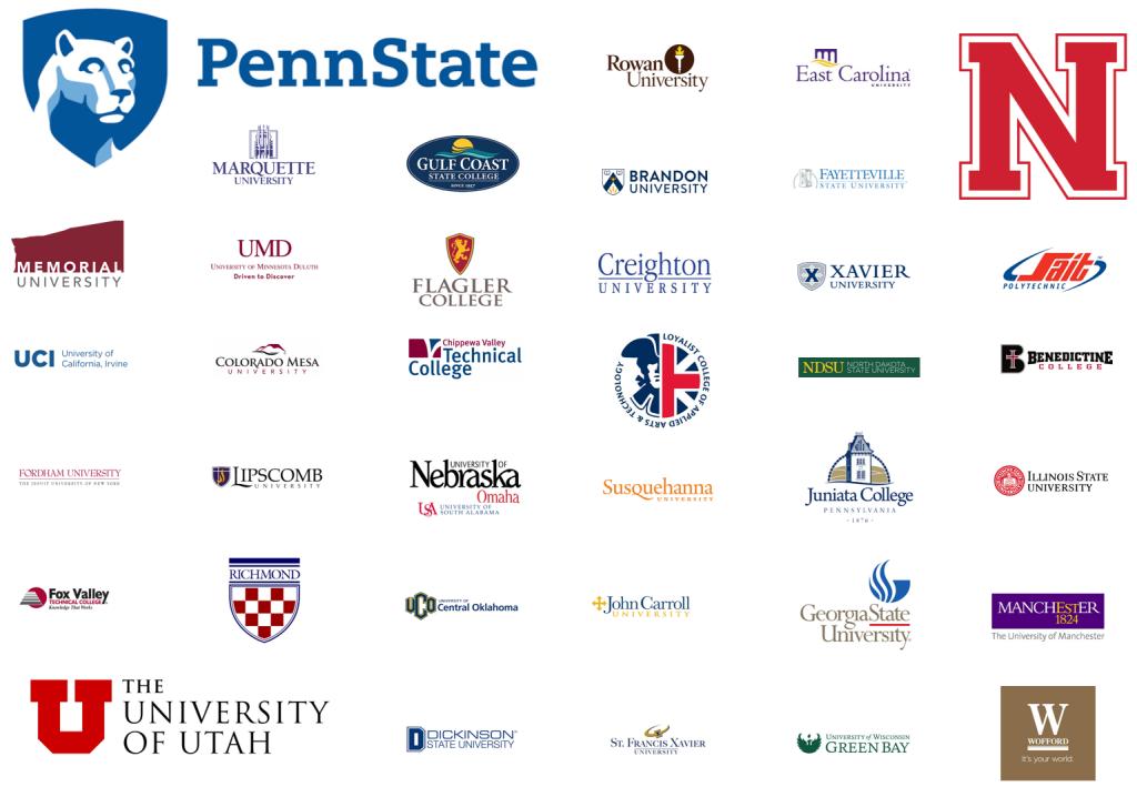 ExEC entrepreneurship curriculum at over 40 Universities including Penn State and the University of Nebraska