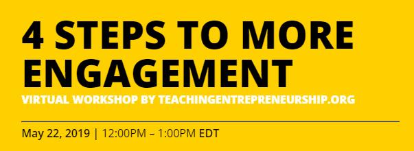 Teaching Entrepreneurship - Experiences teach skills