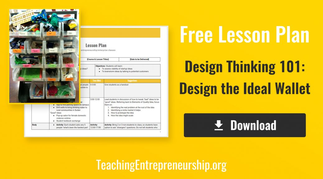 Exercises Archives - Teaching Entrepreneurship