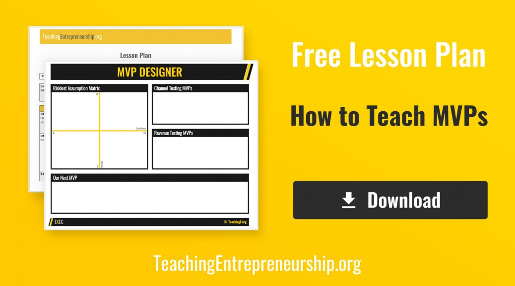 Lesson Plan - How To Teach MVPs