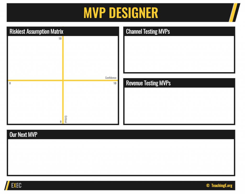 MVP Designer Worksheet