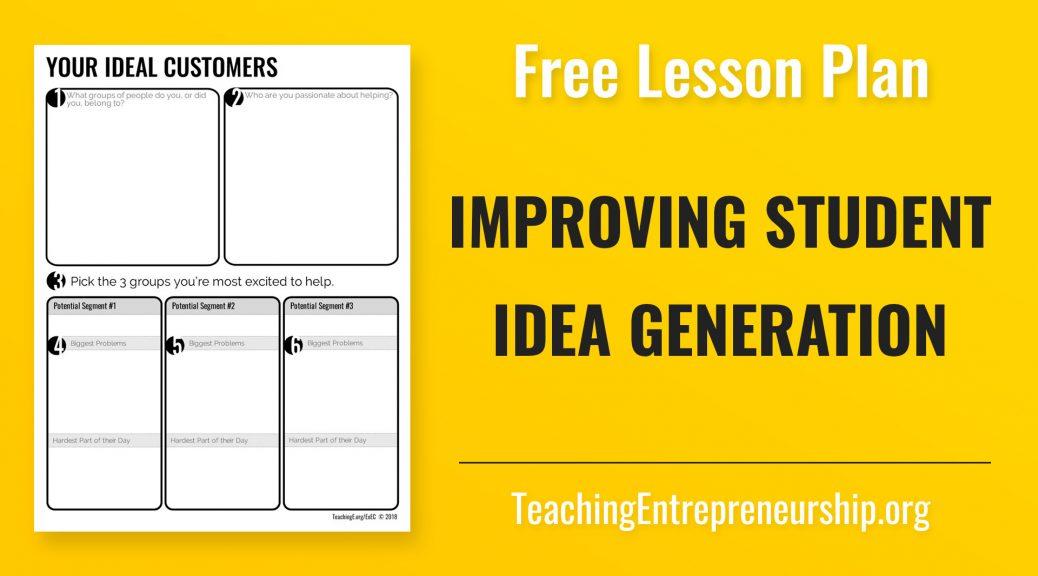 Improving Student Idea Generation