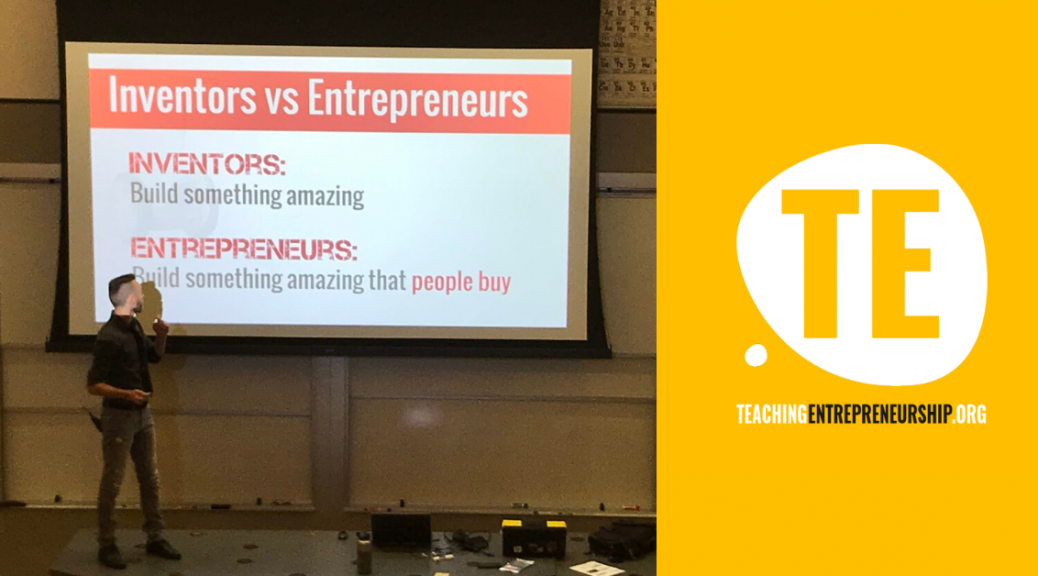 teaching entrepreneurship stanford