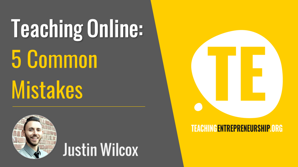 5 Mistakes to Avoid when Teaching Online