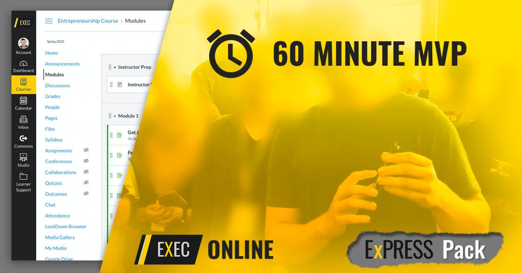 60 Minute MVP ExEC Online image Free Lesson