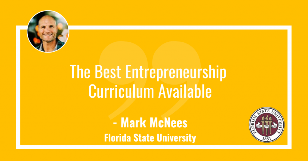 Best Entrepreneurship Curriculum available