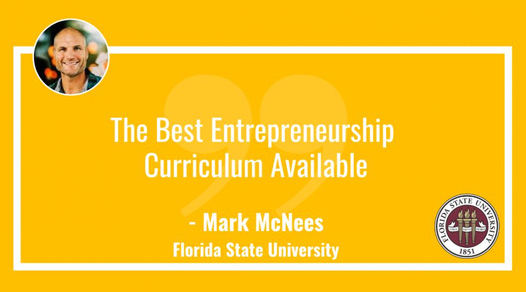 Best Entrepreneurship Curriculum available