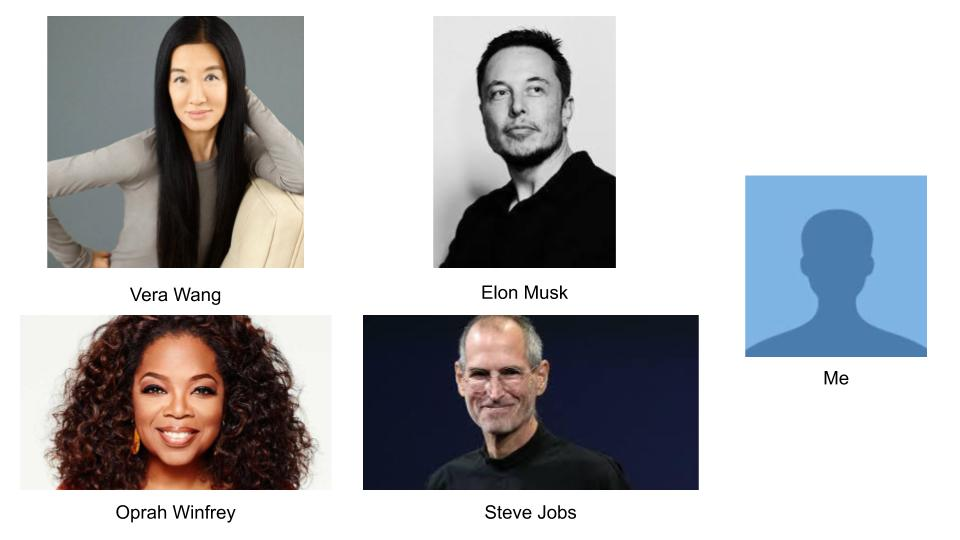 Entrepreneurs who have failed and eventually been successful