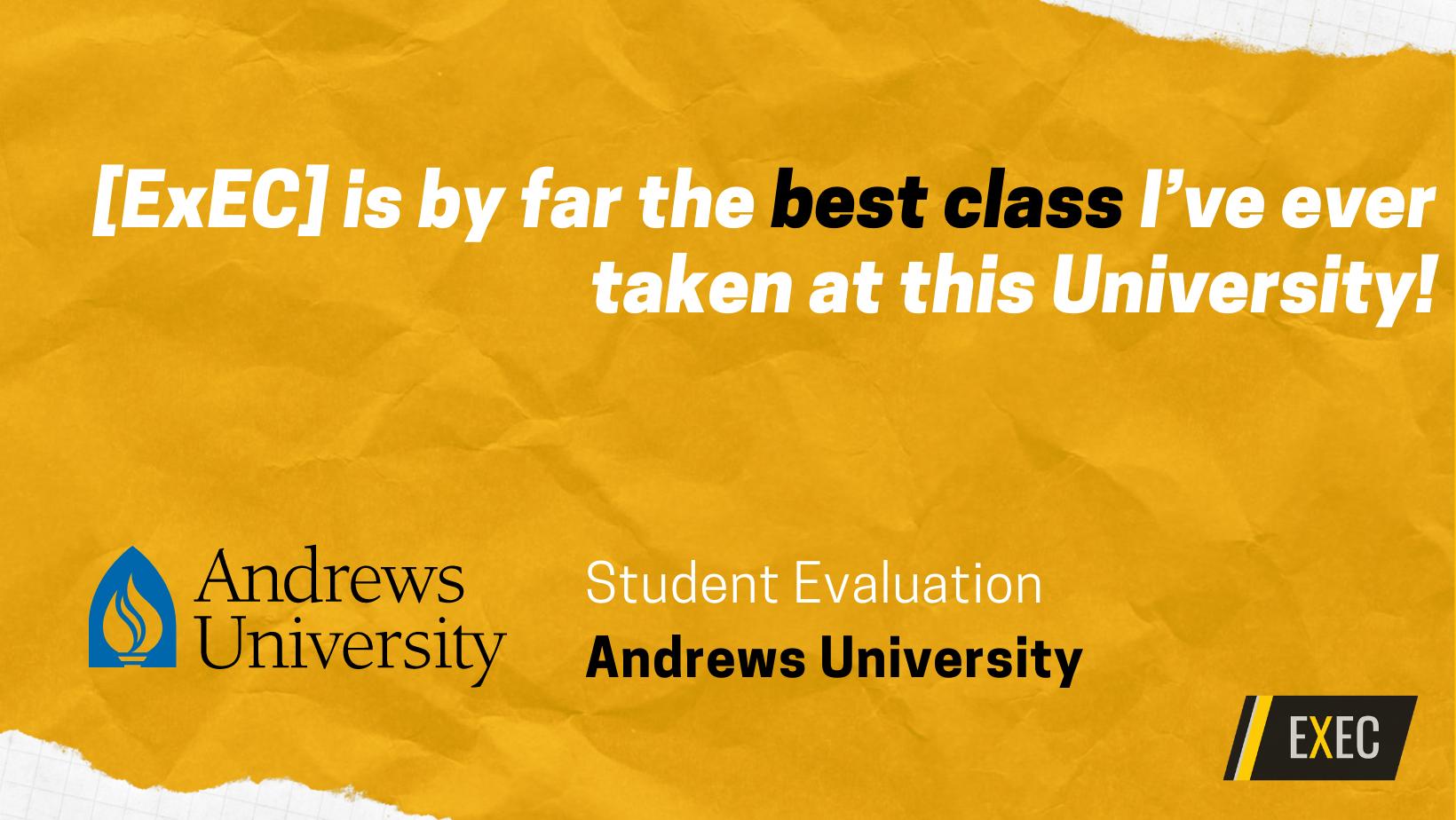 Improve student evaluations